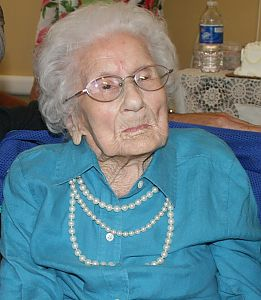 Ms. Besse Cooper- 115 years old